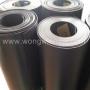พลาสติก พีอี PE สีดำ แผ่นรองกระเป๋า หนา 1.5 มิล หน้ากว้าง 1 เมตร