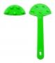 ก้านพัด พลาสติก 5 นิ้ว สีเขียวอ่อน